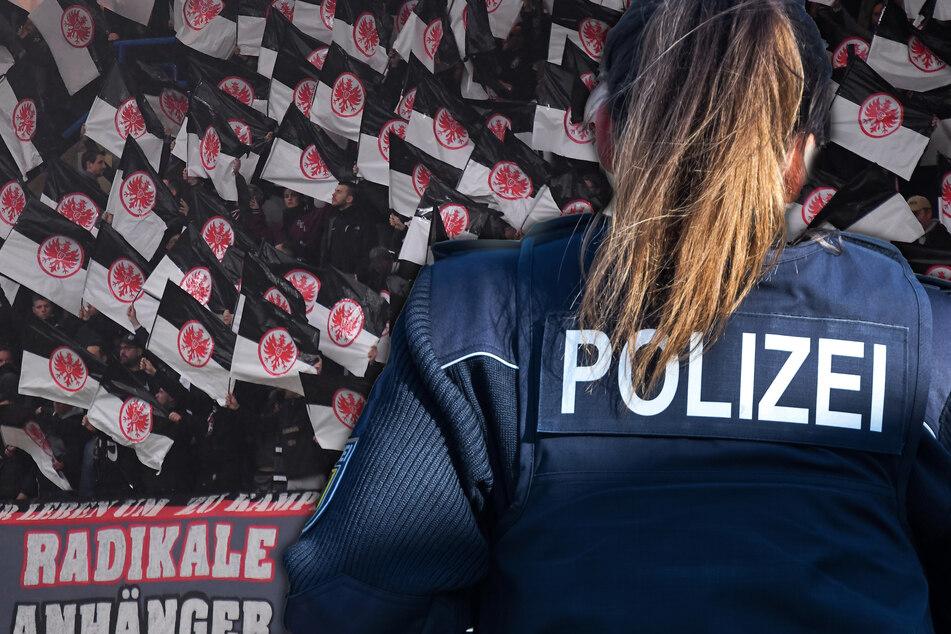 Fahndungsplakat von Polizistin ausgehängt: Stecken Eintracht-Fans dahinter?