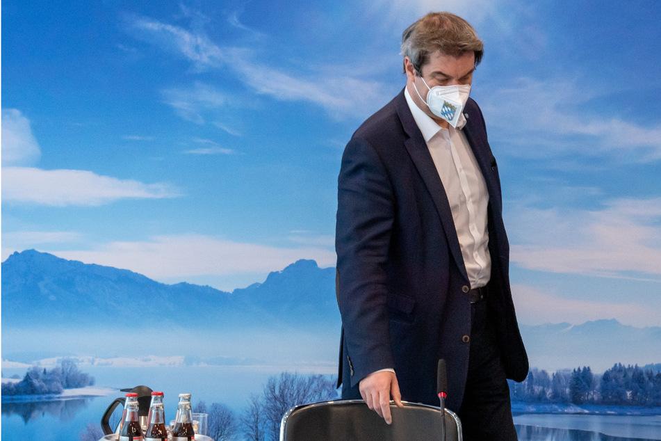 Ministerpräsident Söder: Zweite Corona-Welle besiegt, dritte rollt!