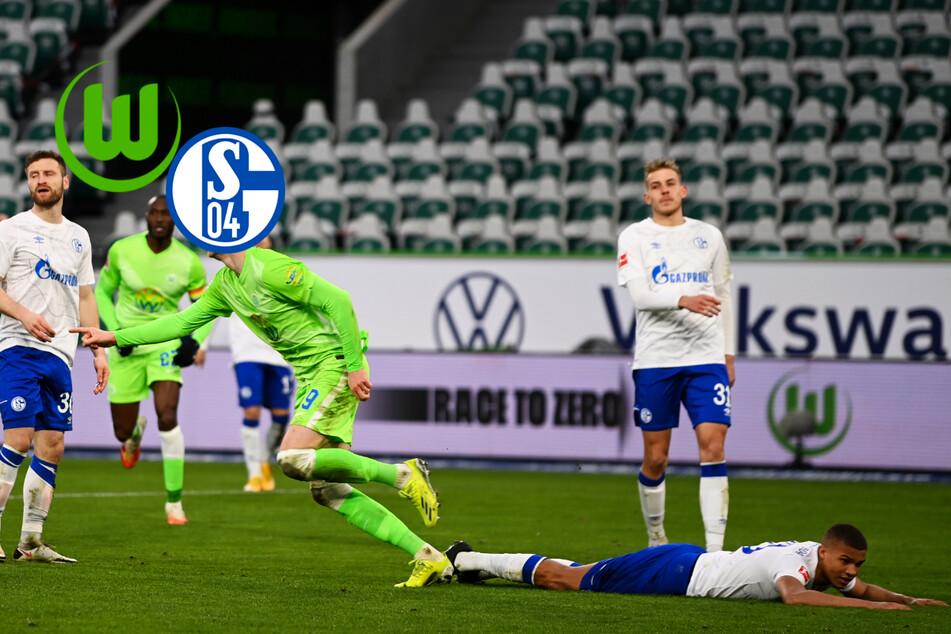 Klassenunterschied! FC Schalke 04 geht beim VfL Wolfsburg unter