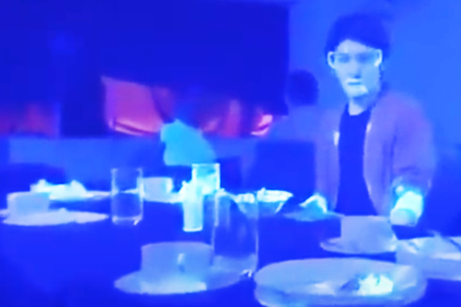 Video zeigt, wie schnell wir uns am Buffet infizieren können