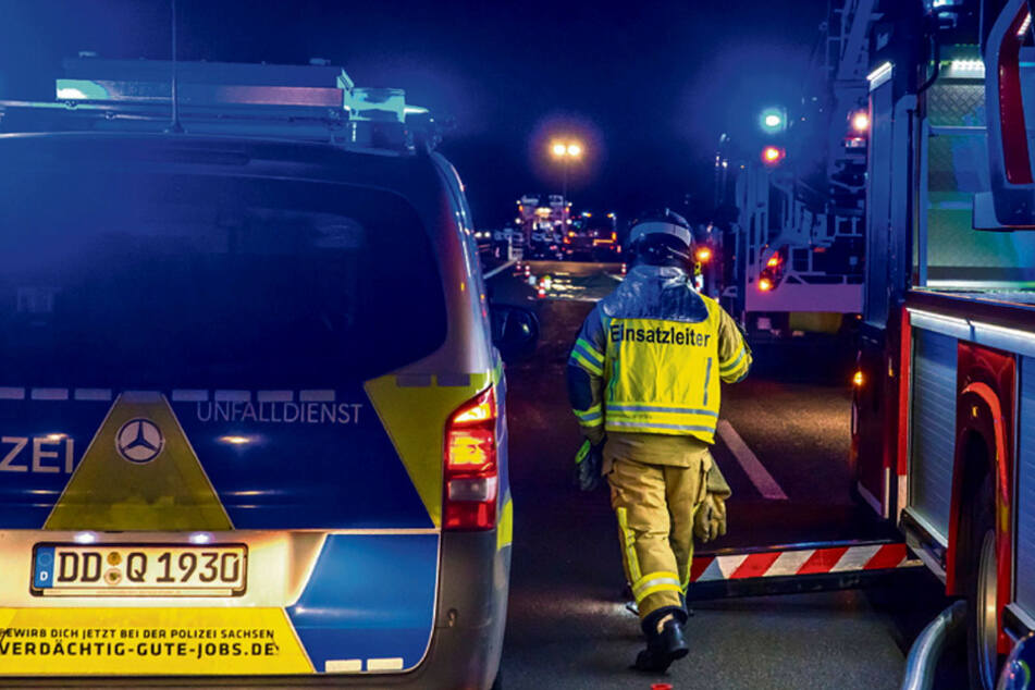 Tödliches Unfall-Drama auf der A38: Mann schlug mit Eisenstange um sich und wurde überfahren