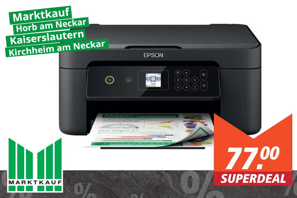 Epson WLAN-Multifunktionsdrucker P-310 für 77 Euro