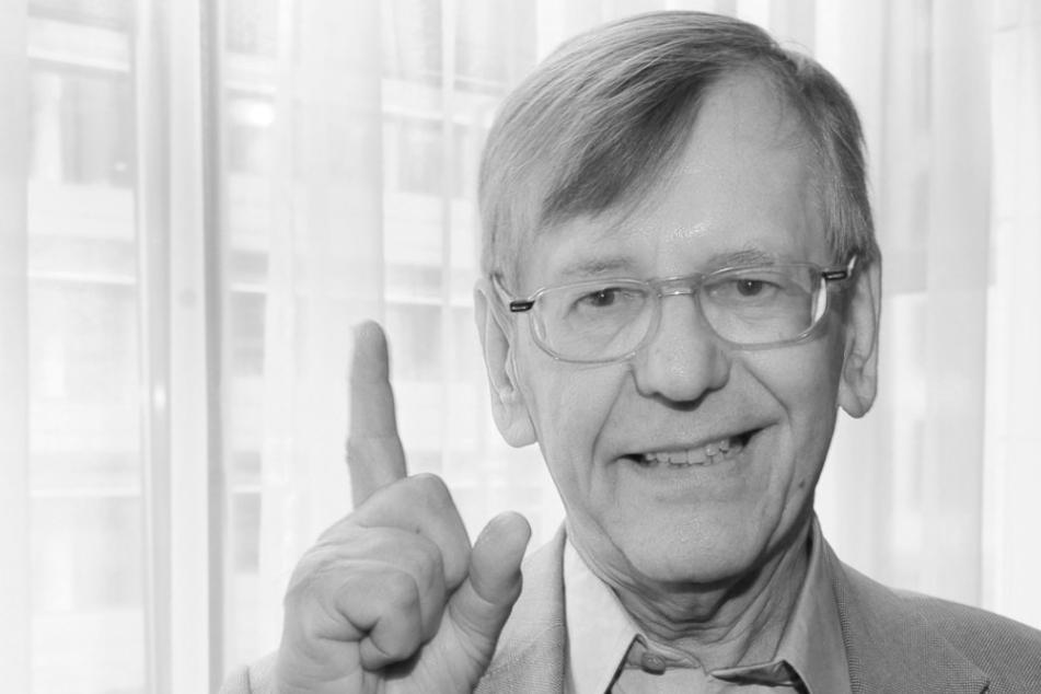 """""""Ich bin jetzt tot"""": Herbert Feuerstein (†83) verfasste eigenen Nachruf"""