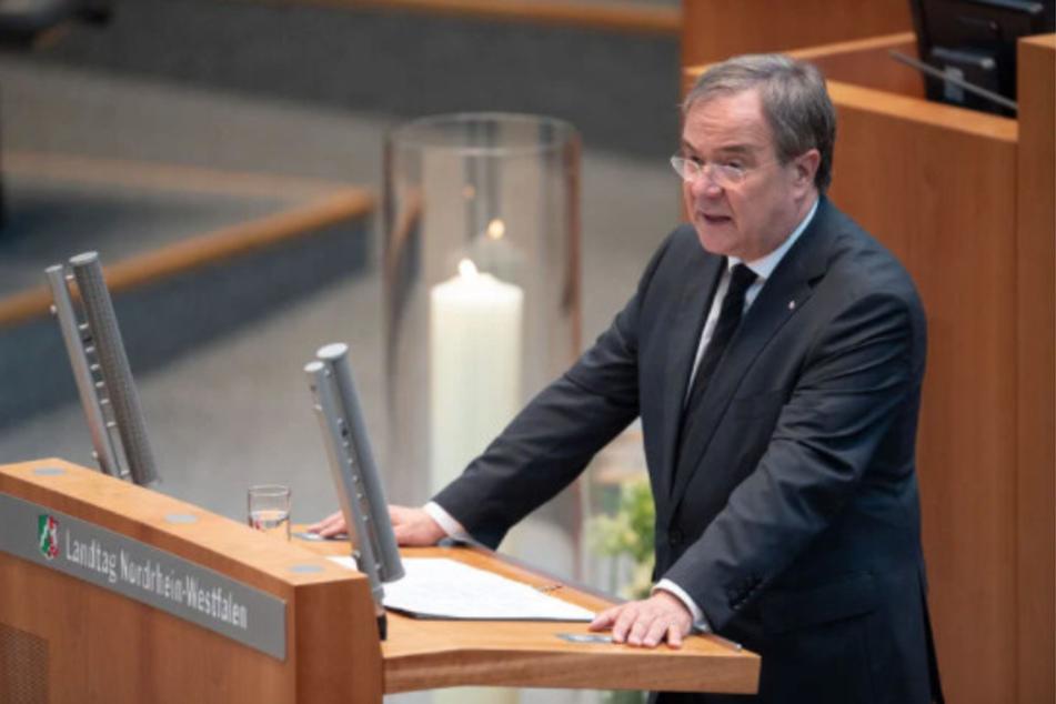 NRW-Ministerpräsident Armin Laschet (60, CDU) hat sich in einer Gedenkstunde für die Covid-Opfer zur aktuellen Corona-Lage geäußert.