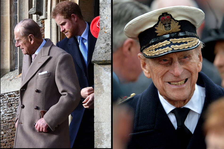 Prince Harry issues a touching tribute to his late grandfather Philip
