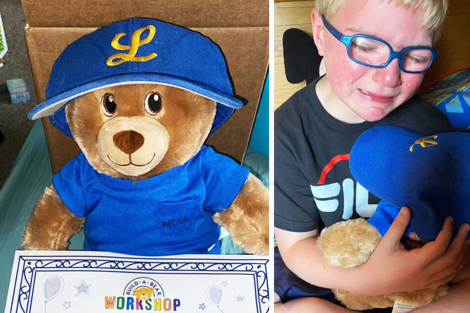Mother gives her son a teddy bear – when it talks, the boy bursts into tears!