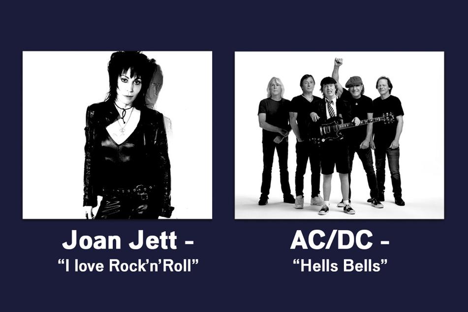 Hört Ihr die aktuellen Rock-Klassiker hintereinander – gewinnt Ihr!