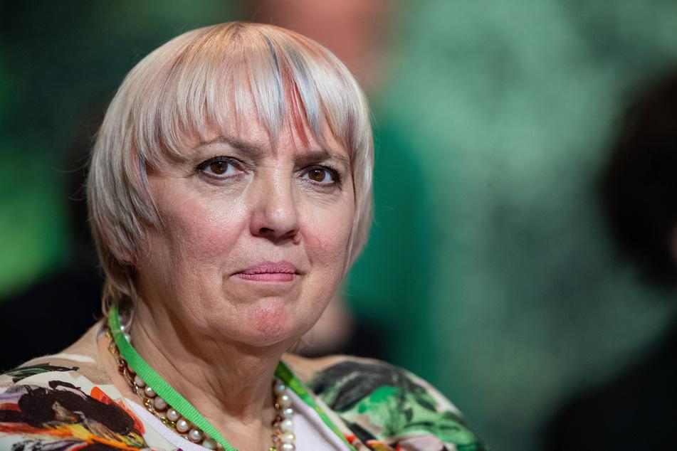 Bundestagsvizepräsidentin Claudia Roth (Bündnis 90/Die Grünen).