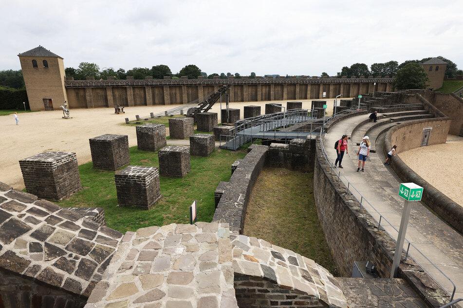 Die militärischen Elemente der einstigen römischen Stadt Colonia Ulpia Traiana - heute Xanten - sind Teil der Bewerbung um Aufnahme in das Unesco-Weltkulturerbe.