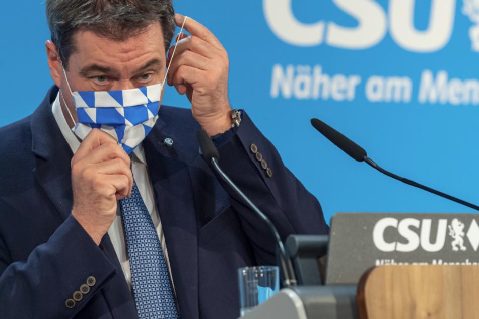 Markus Söder will Bayern gestärkt aus der Coronavirus-Krise führen.