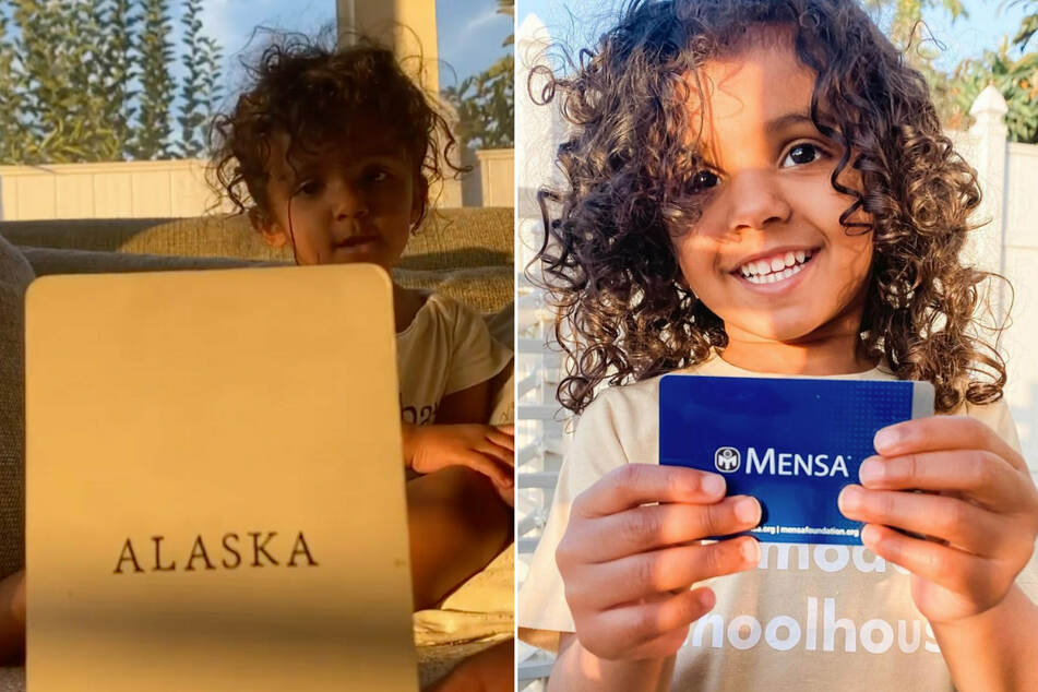 Kashe Quest became the youngest member ever to be accepted into American Mensa.
