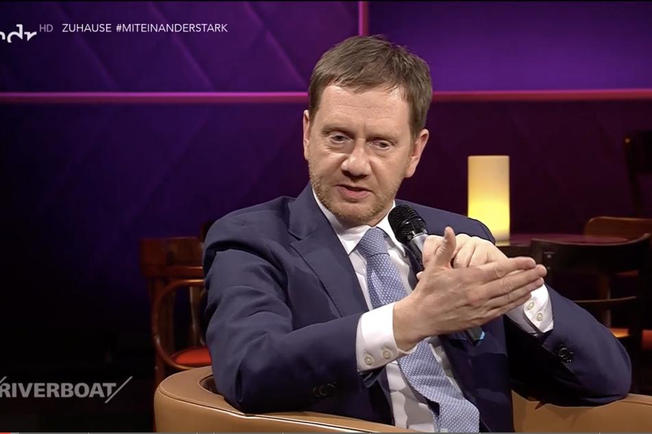 """Sachsens Ministerpräsident Michael Kretschmer (44, CDU) sagt: """"Die Infektionen sind in der Regel nicht im Baumarkt passiert, sie sind in der Gastronomie passiert."""""""