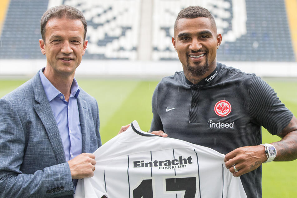 Im Sommer 2017 lockte Fredi Bobic Kevin-Prince Boateng zu Eintracht Frankfurt. Vier Jahre später sind beide bei Hertha BSC.