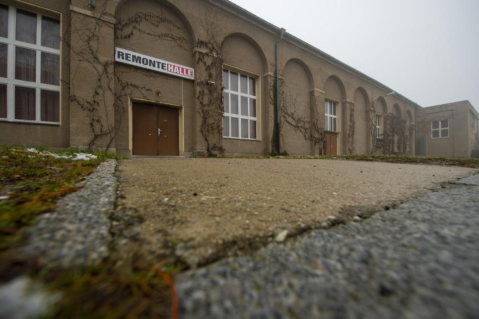 Hier sollte die CDU-Versammlung stattfinden: die Remontehalle in Großenhain.