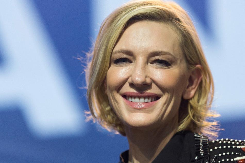 Schock! Cate Blanchett verletzt sich mit Kettensäge am Kopf