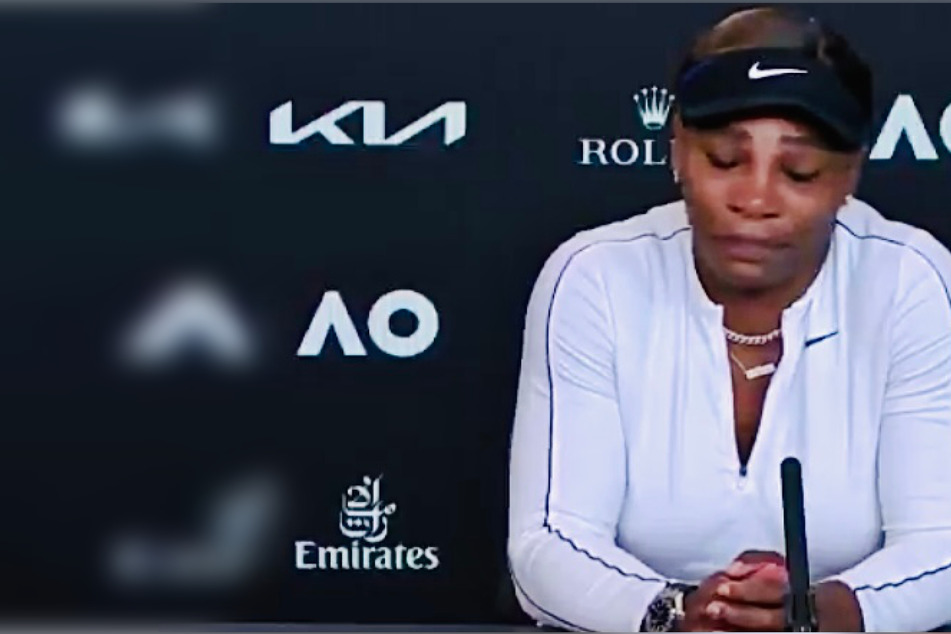 Serena Williams left interview in tears after Australian Open defeat