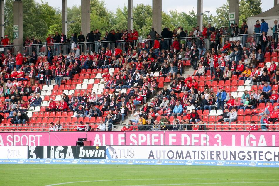 5000 Zuschauer dürfen auf alle Fälle in die GGZ-Arena in Zwickau - egal, wie hoch die Inzidenz ist.