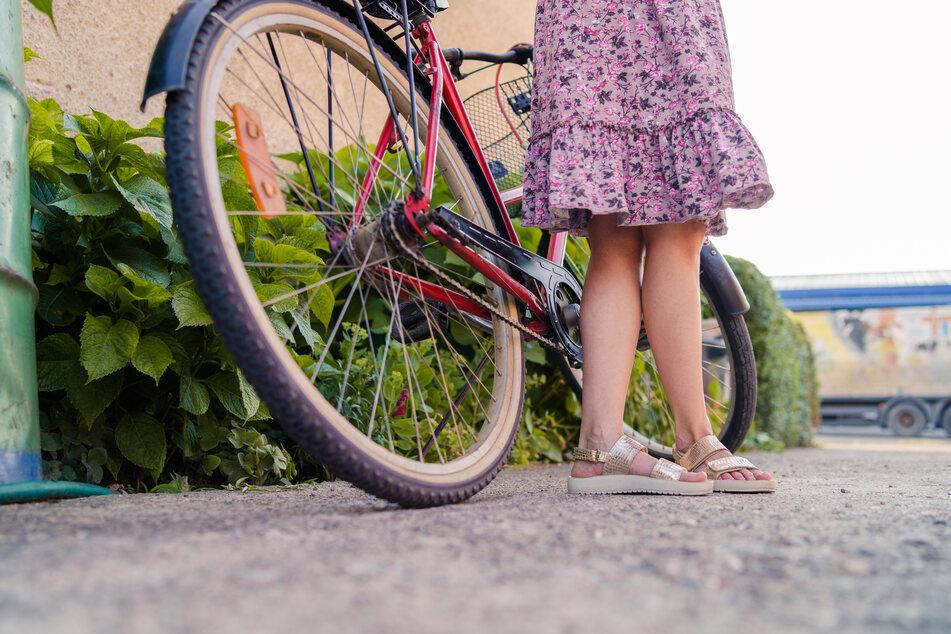 Zwei Mädchen sind bei einem Fahrradunfall verletzt worden. (Symbolbild)