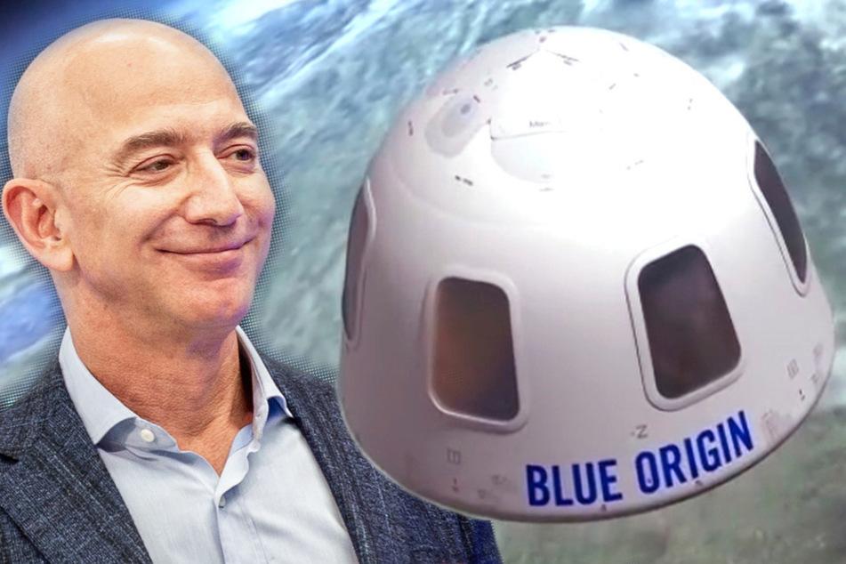 Ticket ins All versteigert: So viele Millionen kostet ein Weltraumflug mit Jeff Bezos