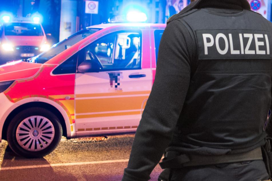 Der Rettungsdienst brachte den Autofahrer (19) und eine Beifahrerin (15) in eine Klinik (Symbolbild).