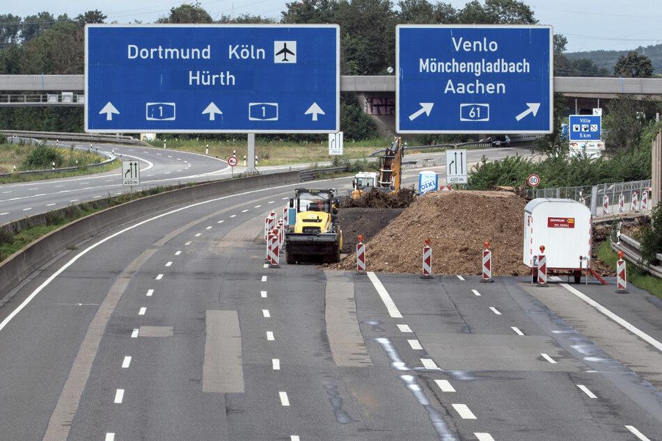 Nach Hochwasser: Noch rund 45 Autobahn-Kilometer in NRW voll gesperrt