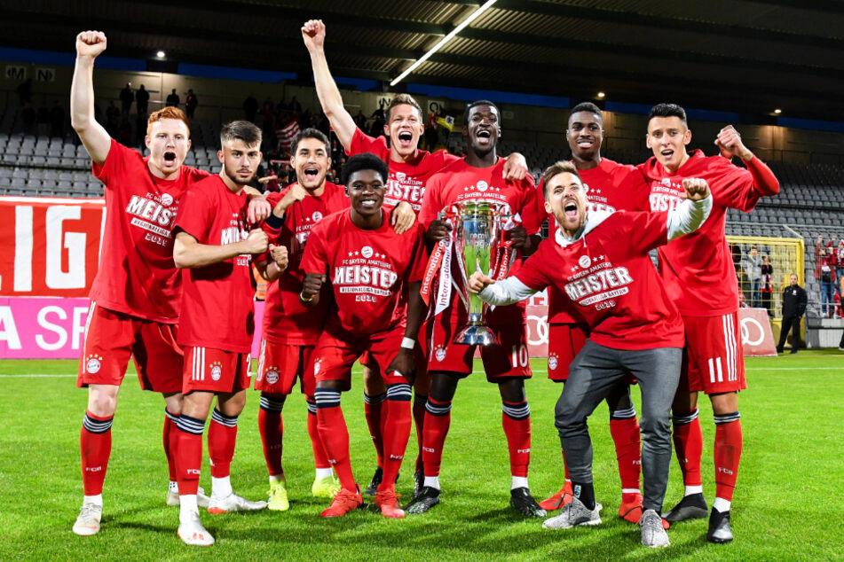Im Mai feierten die kleinen Bayern die Drittliga-Meisterschaft - aufsteigen durften die Amateure allerdings nicht.