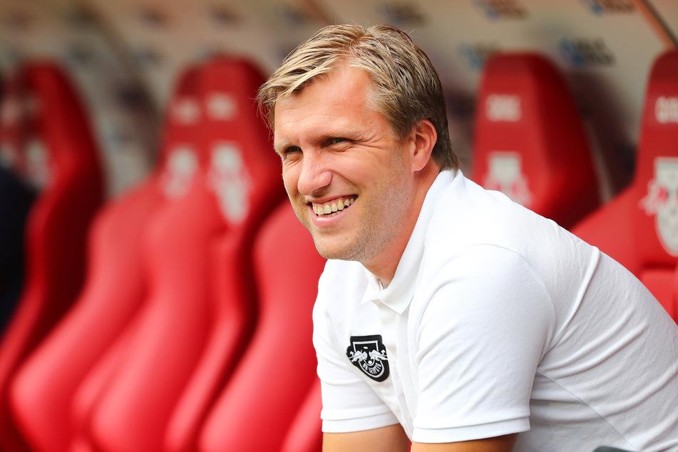 Markus Krösche (40) hat mit RB Leipzig umgesetzt, was er sich vorgenommen hat. (Archivbild)