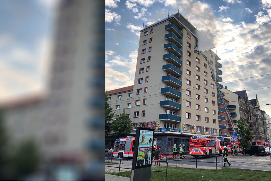 Hochhausbrand in Leipziger Südvorstadt: Zweite Leiche entdeckt