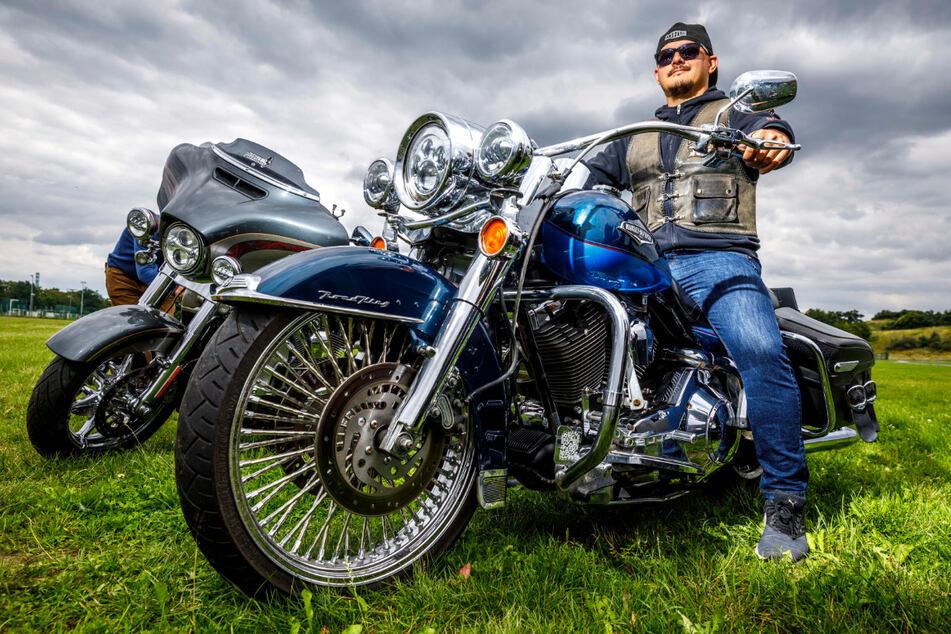 Harley-Biker Daniel Stirl (32) freut sich auf das dreitägige Event.