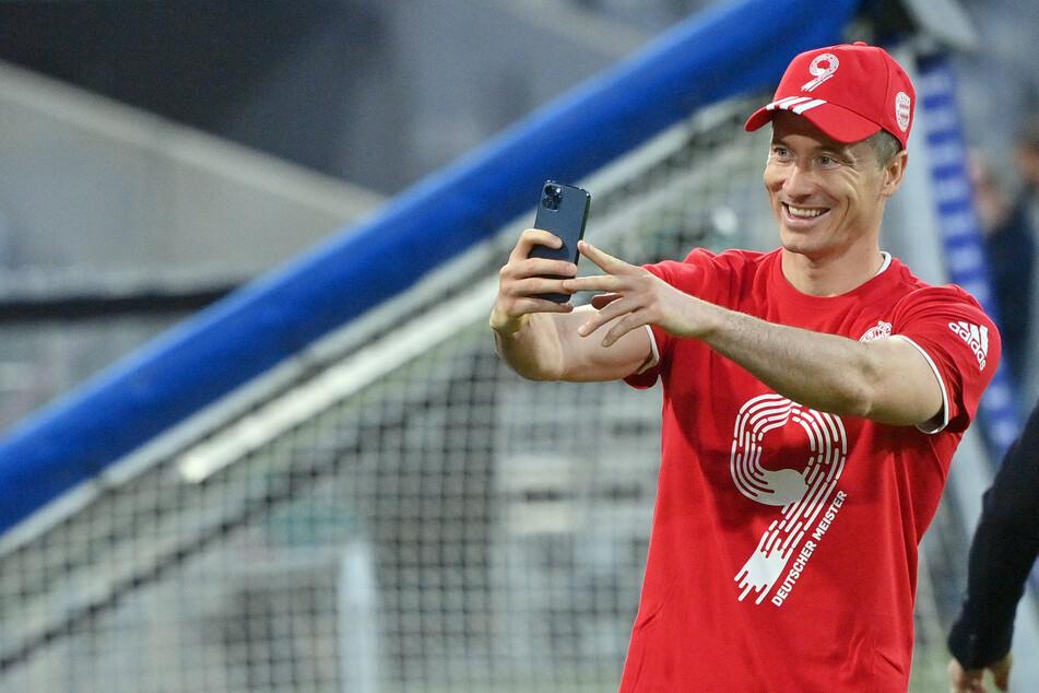Ein Tor fehlt dem Goalgetter Robert Lewandowski (32) noch, um den ewigen Torrekord von Gerd Müller (75) zu knacken.