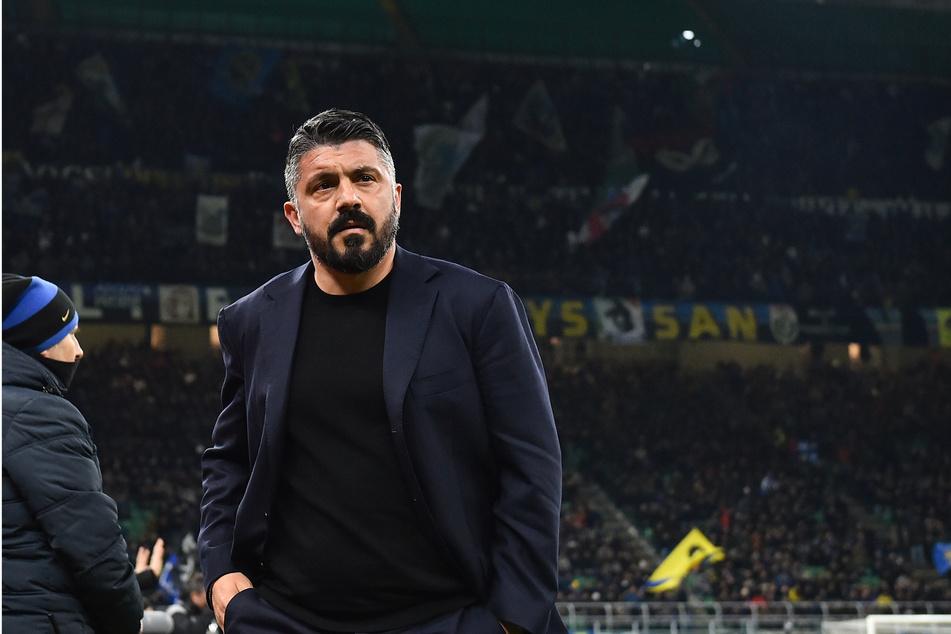 Trainer des SSC Neapel: Gennaro Gattuso (42).
