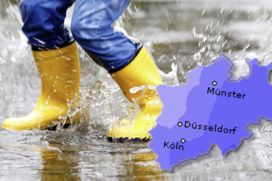 Insbesondere im Osten von Nordrhein-Westfalen kann es heftige Schauer geben. (Symbolbild)