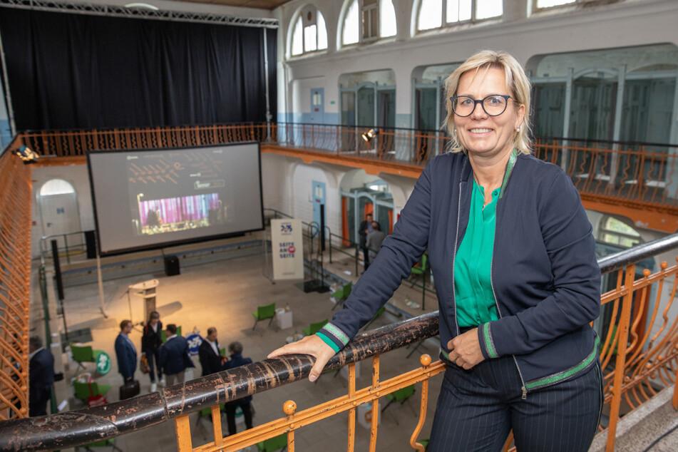 Kulturministerin Barbara Klepsch (54, CDU) versicherte die Unterstützung der Landesregierung für die Bewerbung.