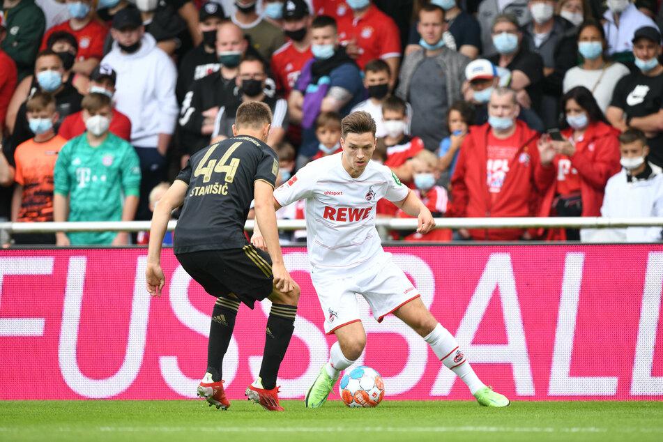 Im Moment ohne Aussicht auf Einsätze: Noah Katterbach (20, r.) hat unter Steffen Baumgart (49) einen schweren Stand.