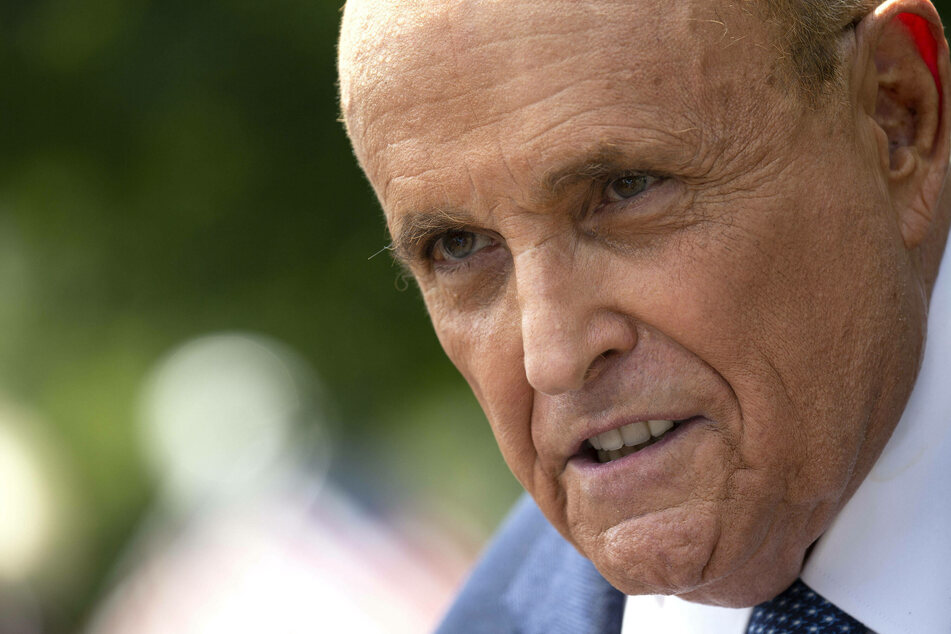 """Rudy Giuliani says feds raided his home because they're """"jealous"""""""