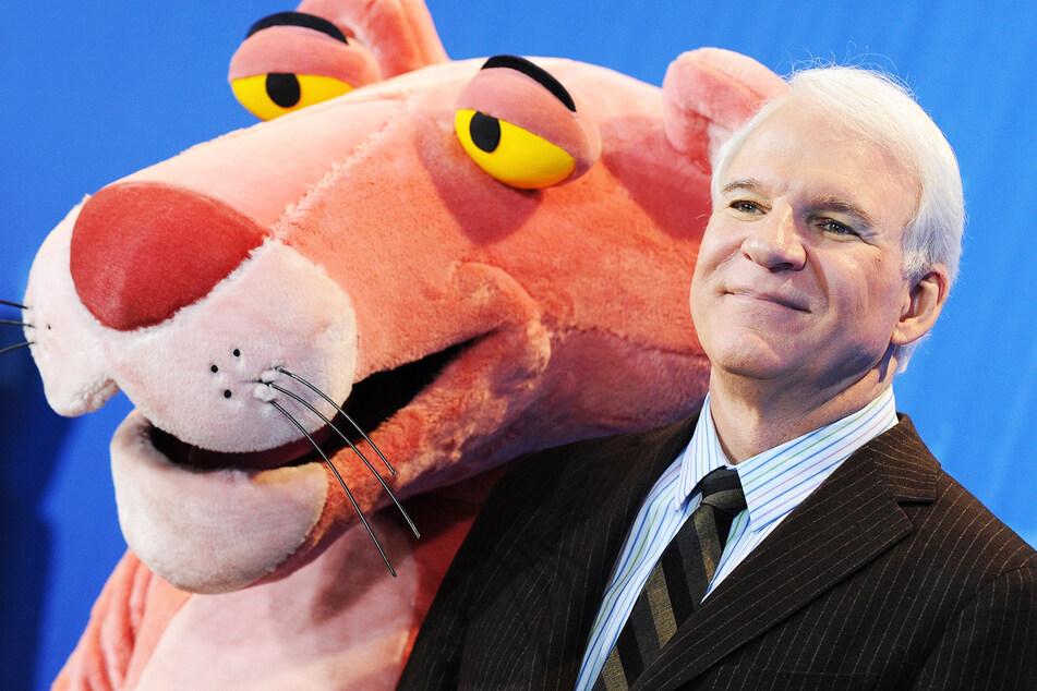 """Schauspieler Steve Martin (75) erlangte nicht erst mit seiner Rolle im Film """"Der rosarote Panther"""" weltweite Berühmtheit."""