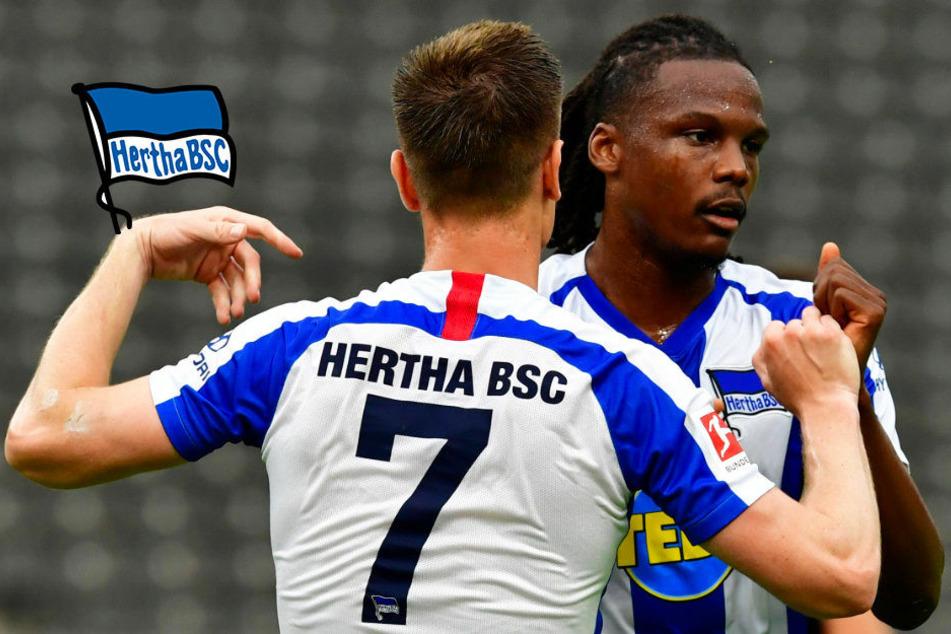 Hertha BSC: Dedryck Boyata und Krzysztof Piatek trainieren wieder