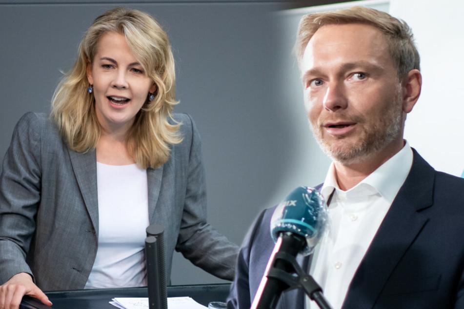 """Christian Lindner bedauert """"missglückte"""" Bemerkung an Generalsekretärin Teuteberg"""