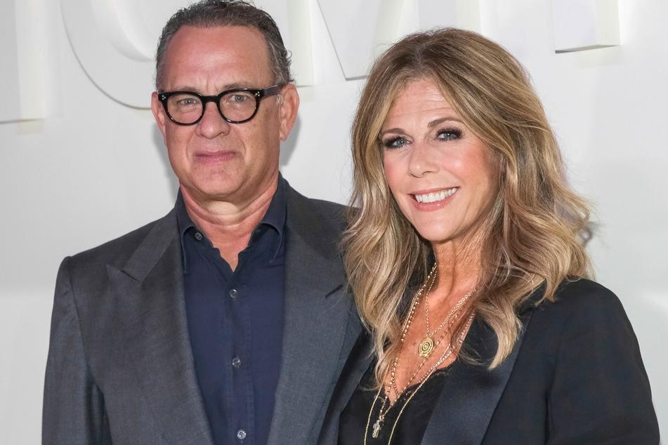 Tom Hanks, US-Schauspieler und Ehefrau Rita Wilson.