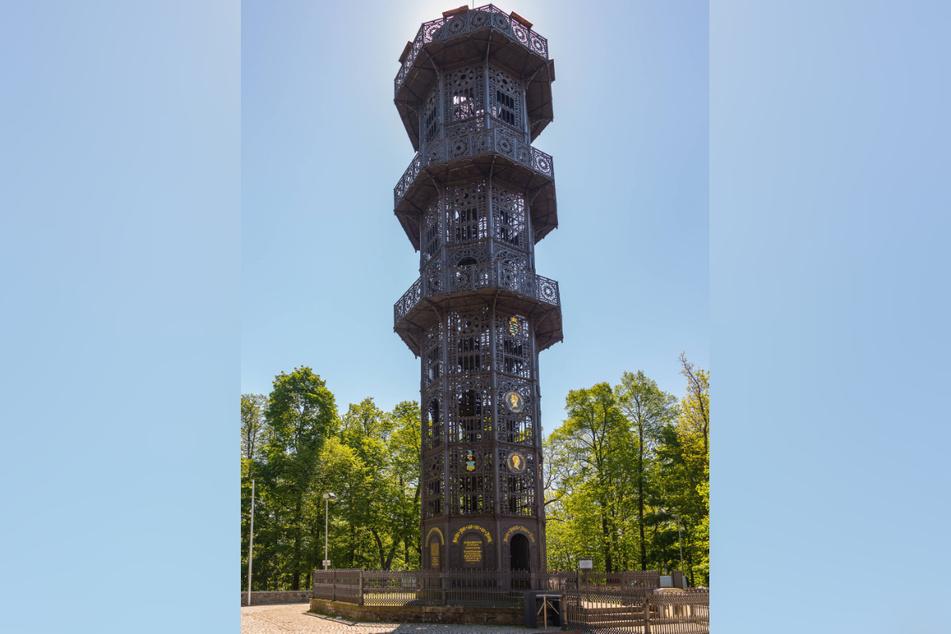 Der Karl-Friedrich-August Turm in Löbau