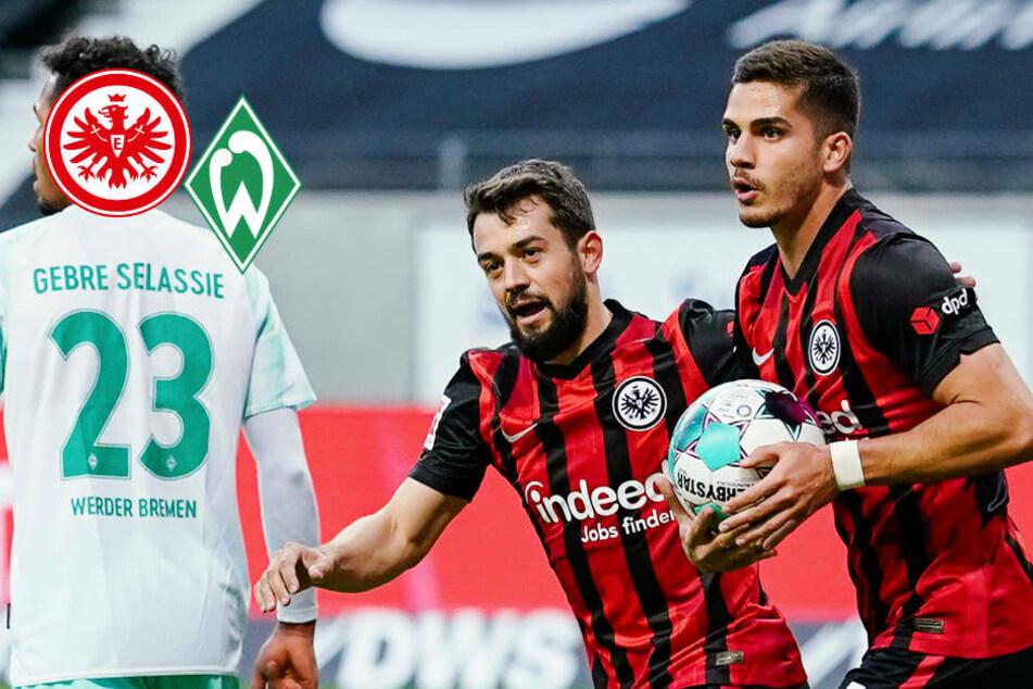 Eine starke Halbzeit reicht Eintracht Frankfurt nicht für Sieg über Werder Bremen