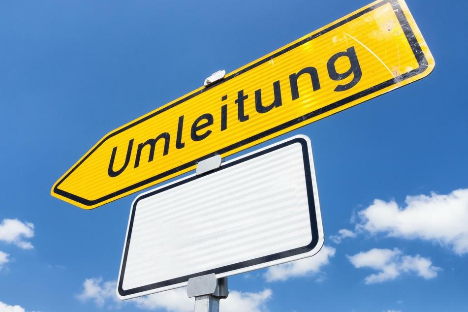 Die B174 wird ab Montag teilweise gesperrt. Wer in Richtung Marienberg unterwegs ist, muss eine Umleitung fahren. (Symbolbild)