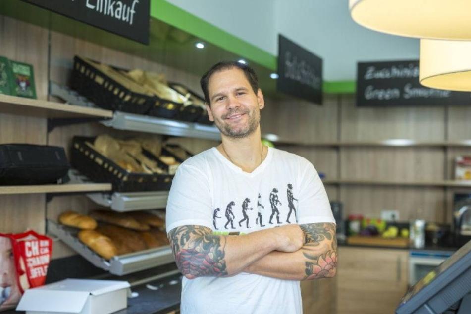 Chef des Vegan-Markts kämpft um seinen Ruf
