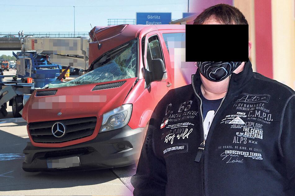 Tödlicher Unfall auf der A4: Beifahrer stirbt, Arbeitskollege muss vor Gericht