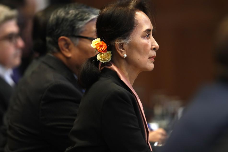 Myanmars Führerin Aung San Suu Kyi.