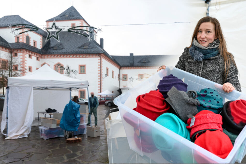Mit Glühwein und Co.: Schloss Augustusburg lädt zum Fast-Weihnachtsmarkt