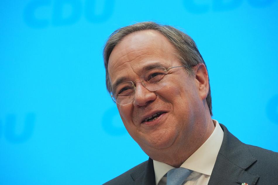 Ob Armin Laschet (60) nach der Bundestagswahl im September auch noch so viel zu lachen haben wird?