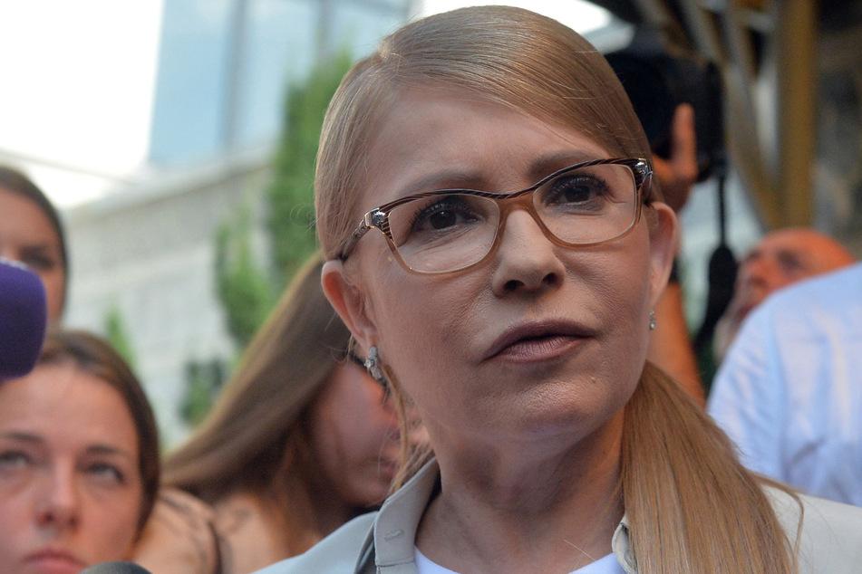 Julia Timoschenko (59), ukrainische Ex-Regierungschefin.