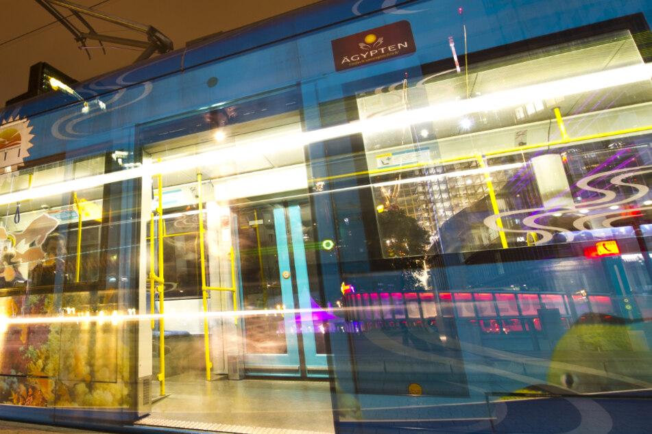 Die Straßenbahn überfuhr trotz Vollbremsung den Ast (Symbolfoto).
