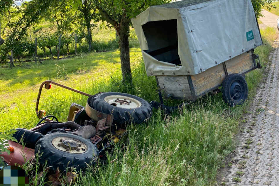 Drei junge Rabauken mopsen Traktor-Gespann: Raubzug nimmt kein gutes Ende